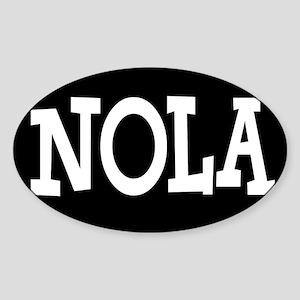 NOLA BLACK AND WHITE Sticker
