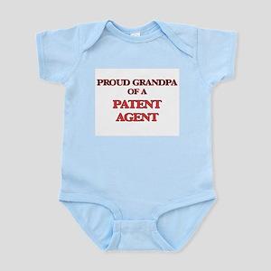 Proud Grandpa of a Patent Agent Body Suit