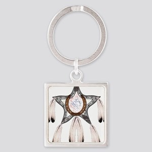 horse shoe star dreamcatcher Keychains