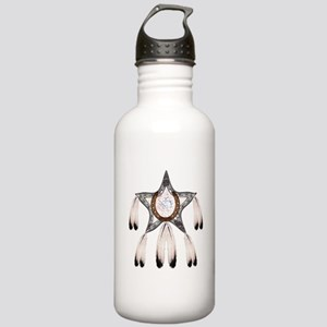 horse shoe star dreamcatcher Water Bottle