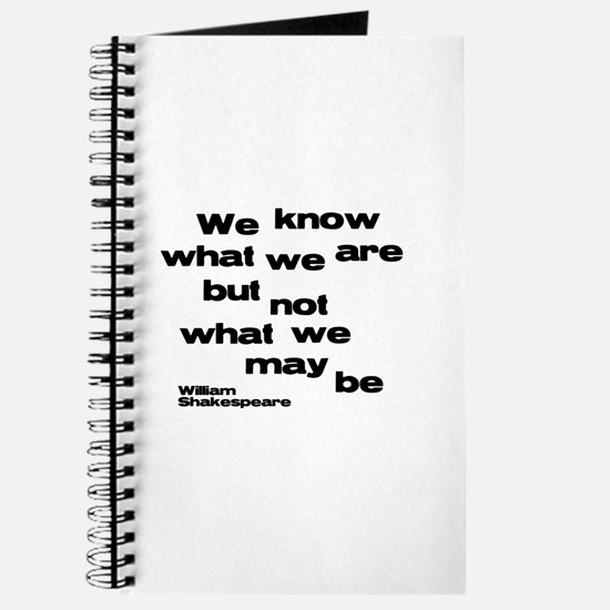 Cute Shakespeare quotes Journal