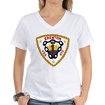 USS Edenton (ATS 1) Women's V-Neck T-Shirt