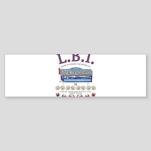 LONG BEACH ISLAND NEW JERSEY Bumper Sticker