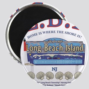LONG BEACH ISLAND NEW JERSEY Magnets