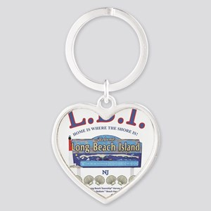 LONG BEACH ISLAND NEW JERSEY Keychains