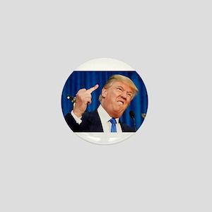 Donald Flipping Mini Button