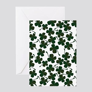 lucky clover Greeting Cards