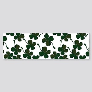 lucky clover Bumper Sticker