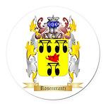 Rosencrantz Round Car Magnet