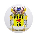 Rosenblath Round Ornament