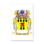 Rosenblat Rectangle Car Magnet