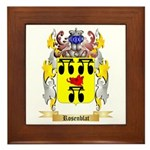 Rosenblat Framed Tile