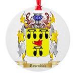 Rosenblad Round Ornament