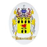 Rosellini Oval Ornament