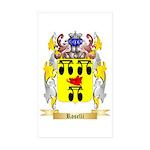 Roselli Sticker (Rectangle 50 pk)