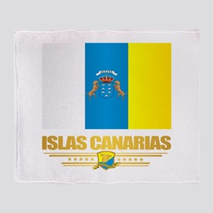 Canary Islands Throw Blanket