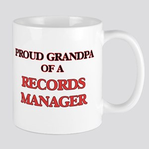 Proud Grandpa of a Records Manager Mugs