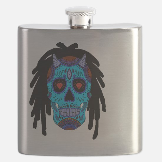 Funny Cancun Flask