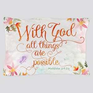 With God Pillow Case