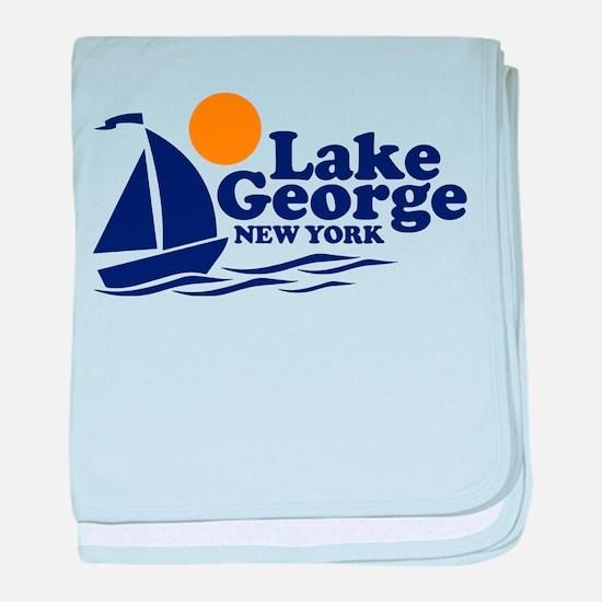 Lake George New York baby blanket
