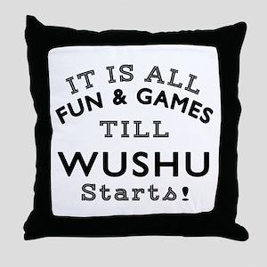 Wushu Fun And Games Designs Throw Pillow