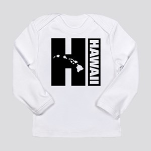 Hawaii Outline Long Sleeve T-Shirt
