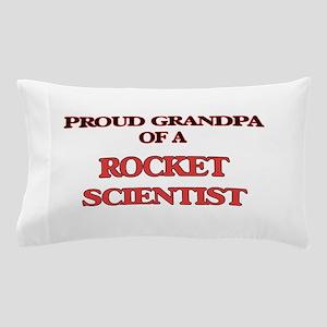 Proud Grandpa of a Rocket Scientist Pillow Case