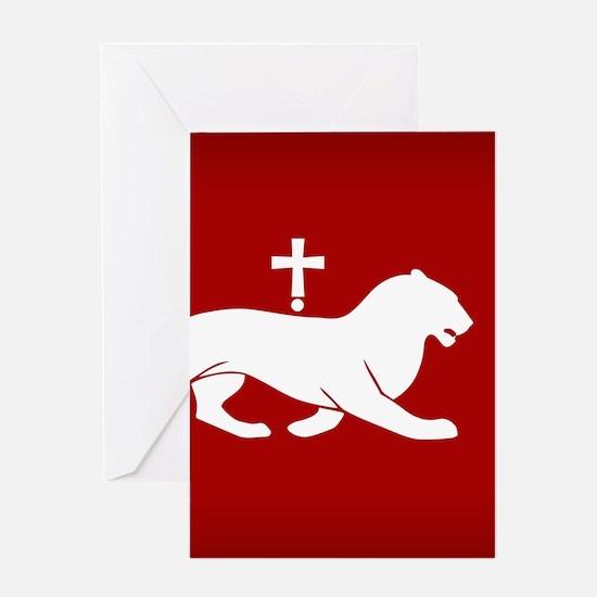 ARMENIA BAGRATUNI FLAG Greeting Cards