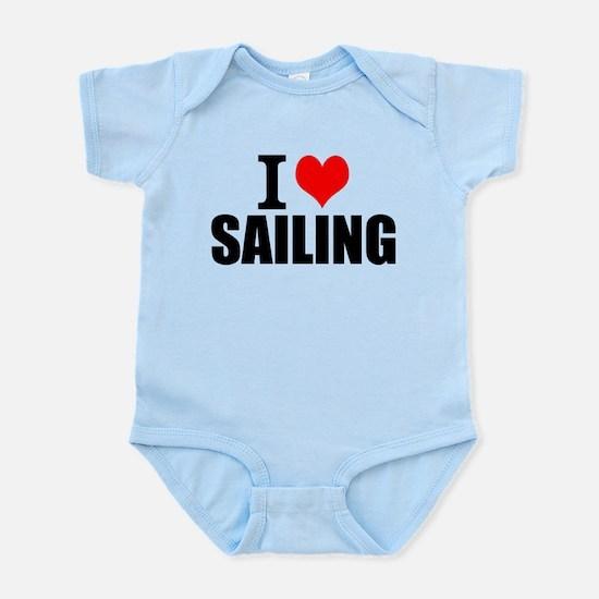 I Love Sailing Body Suit