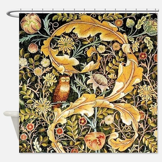 Wm Owl Shower Curtain