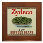 Zydeco Framed Tile