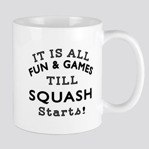Squash Fun And Games Designs Mug