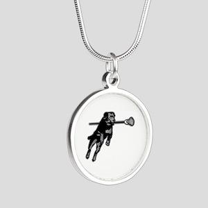 Silver Round Necklace Necklaces