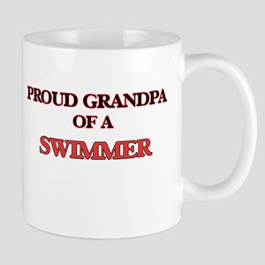 Proud Grandpa of a Swimmer Mugs