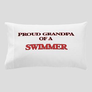 Proud Grandpa of a Swimmer Pillow Case