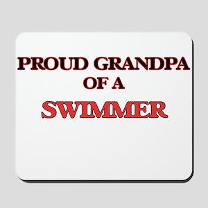 Proud Grandpa of a Swimmer Mousepad