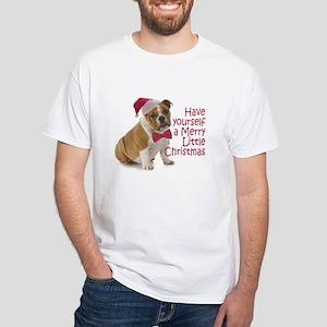Santa Bulldog T-Shirt
