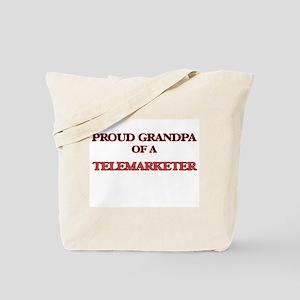 Proud Grandpa of a Telemarketer Tote Bag