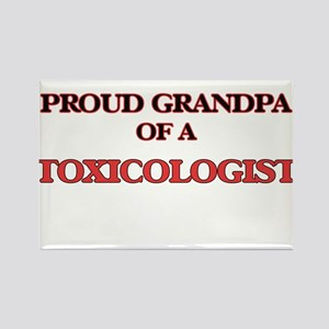 Proud Grandpa of a Toxicologist Magnets