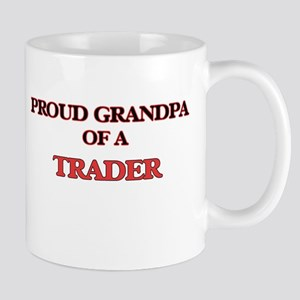 Proud Grandpa of a Trader Mugs