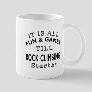 Rock Climbing Fun And Games Designs Mug