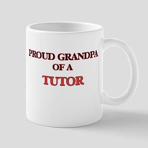Proud Grandpa of a Tutor Mugs
