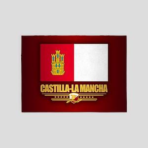 Castilla-La Mancha 5'x7'Area Rug