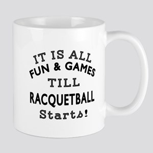 Racqetball Fun And Games Designs Mug