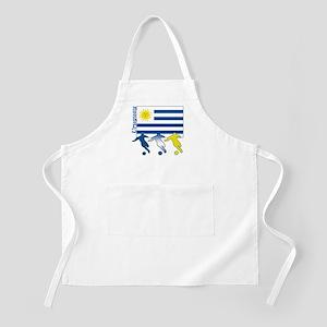 Uruguay Soccer BBQ Apron