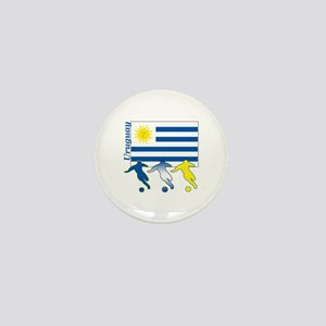 Uruguay Soccer Mini Button (100 pack)