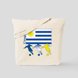 Uruguay Soccer Tote Bag