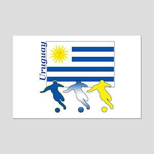 Uruguay Soccer Mini Poster Print