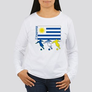 Uruguay Soccer Women's Long Sleeve T-Shirt