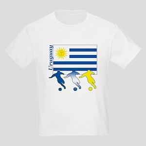 Uruguay Soccer Kids Light T-Shirt